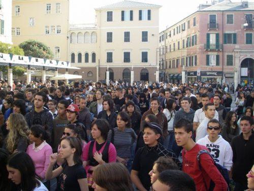 No alla riforma della Scuola del Governo Renzi, gli studenti si compattano