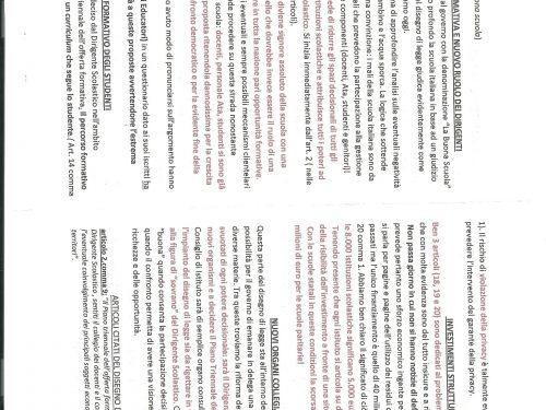 Documenti e materiale per le mobilitazioni di aprile e maggio