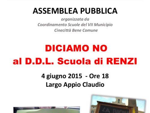 Assemblea Pubblica VII Municipio