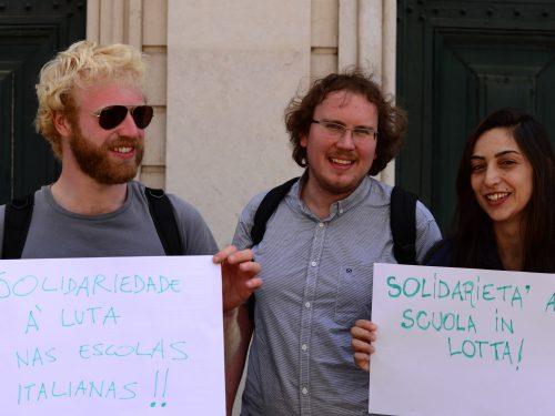 I Cervelli in Fuga Difendono la Scuola Pubblica. No al DDL Renzi!!!!