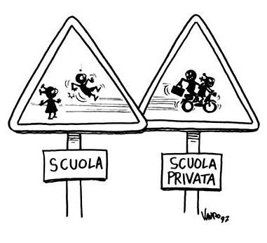 vauro_scuole pubbliche e private