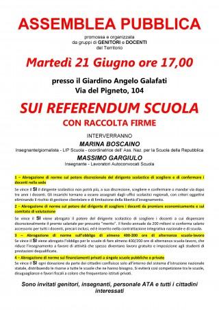 DEFINITIVO - ASSEMBLEA PUBBLICA in Giardino