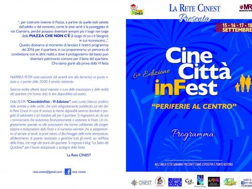 Dibattito sulla scuola al Cine Città inFest